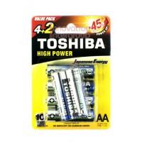 Toshiba ALKALINE AA Pack6