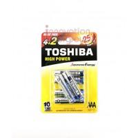 Toshiba ALKALINE AAA Pack6