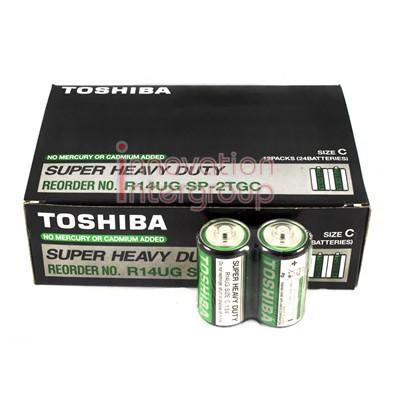 ถ่าน Toshiba Size C